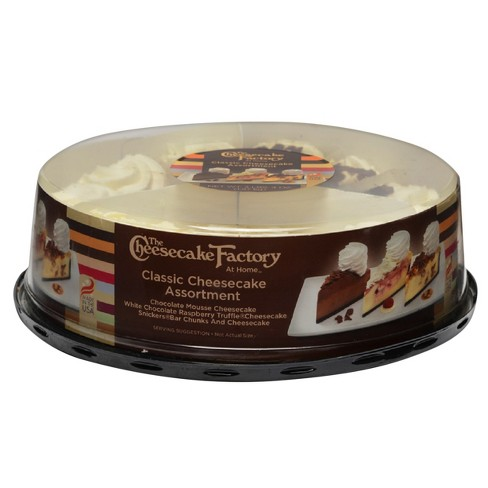 """TCF Chsecake 9"""" variety Pack 52oz - image 1 of 1"""