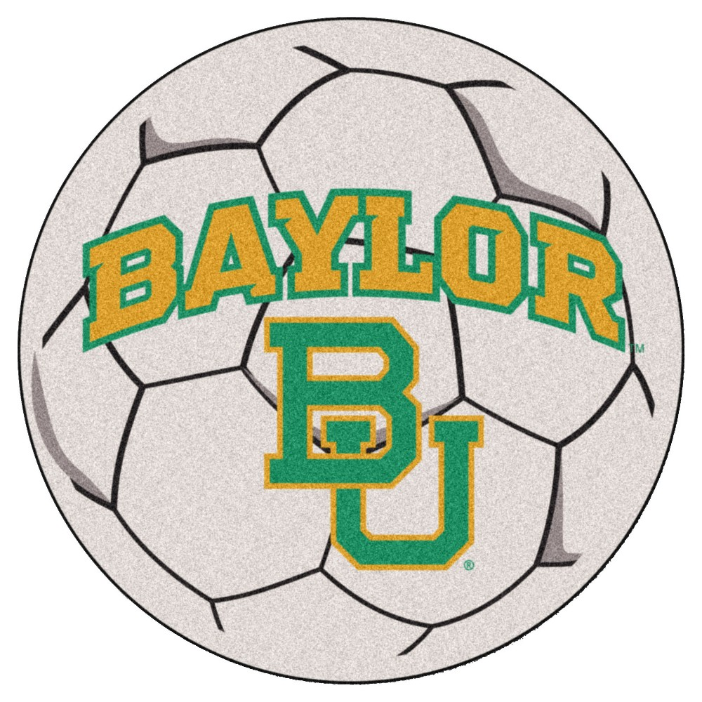 NCAA 27 Soccer Ball Mat Baylor Bears