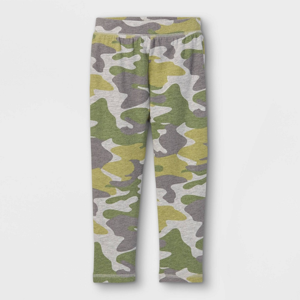 Toddler Boys 39 Camo French Terry Sweatpants Art Class 8482 Heather Gray 3t