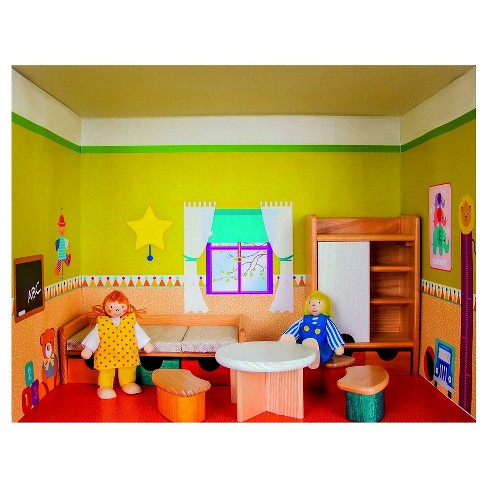Rulke Puppenhaus Im Regal Doll House Modular Play Set - Child's Bedroom - image 1 of 2