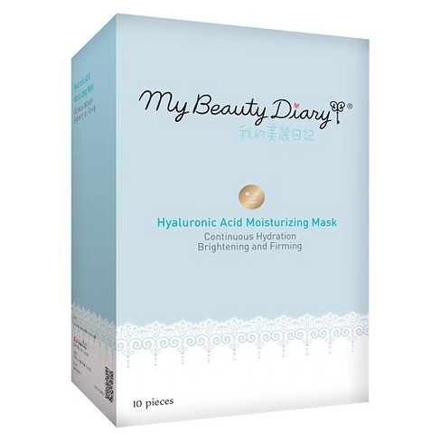 My Beauty Diary Hyaluronic Acid Hydrating Mask - 10ct - image 1 of 1