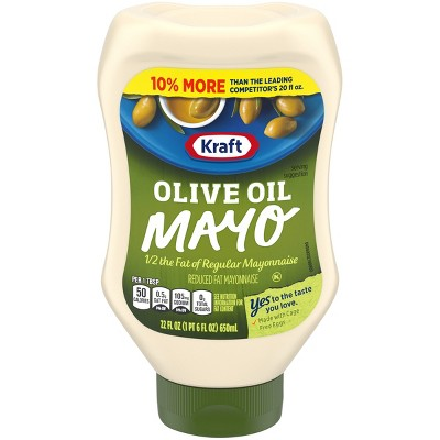 Mayonnaise: Kraft Reduced Fat with Olive Oil