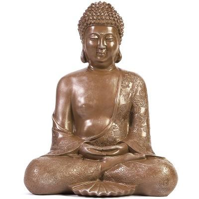 Juvale Decorative Meditating Buddha Statue (11 inch)