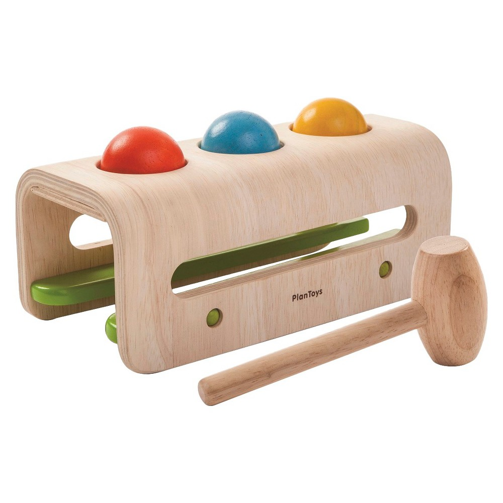 PlanToys Hammer Balls, Baby and Toddler Learning Toys