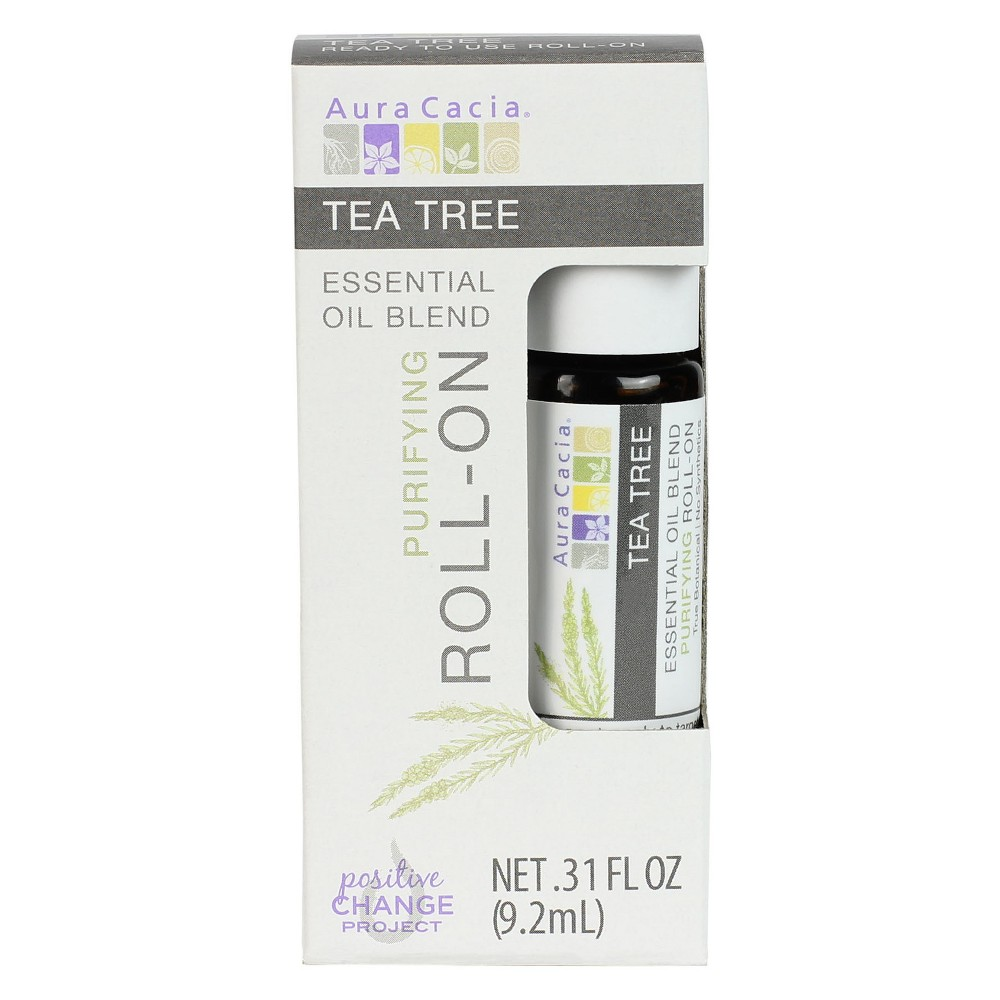 Aura Cacia Tea Tree Essential Oil Roll-On - .31oz