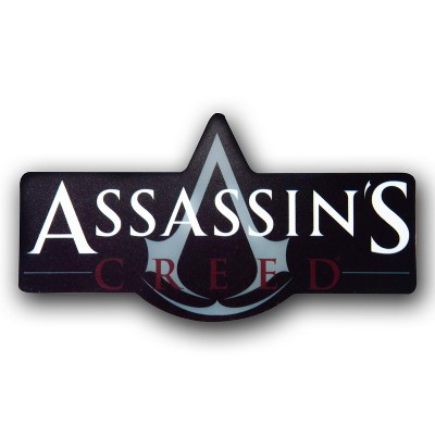 """Just Funky OFFICIAL Assassin's Creed Logo Magnet 