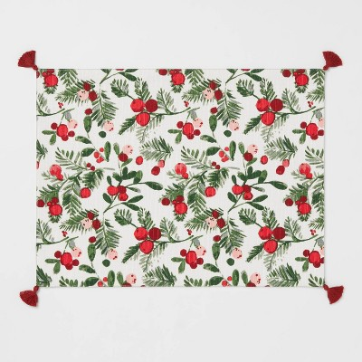 Cotton Berries Print Placemat - Threshold™