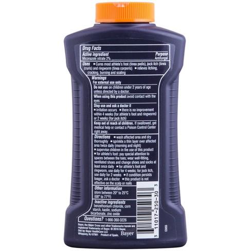 Lotrimin Miconazole Nitrate Antifungal Powder – 3oz
