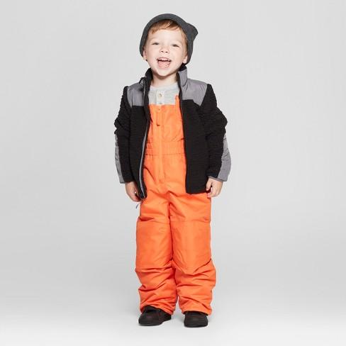 b9769525b Toddler Boys  Snow Pants - Cat   Jack™ Orange   Target