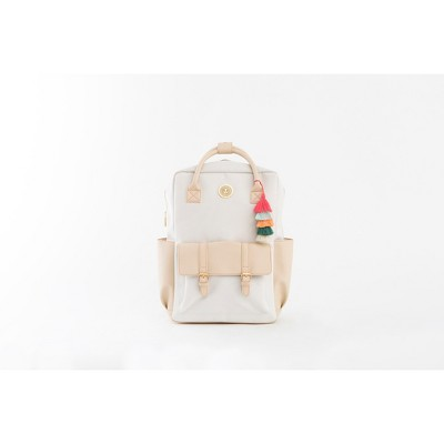 Jungalow by Justina Blakeney Rucksack Backpack - Orange