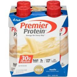 Premier Protein Shake - Vanilla - 4ct
