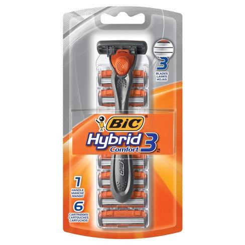 BIC® Hybrid Advance Triple Blade Disposable System Razor for Men - 6ct - image 1 of 3