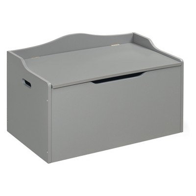 Badger Basket Bench Top Toy Box Gray