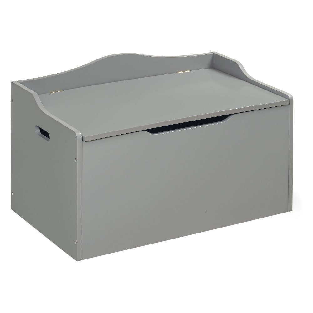 Image of Badger Basket Bench Top Toy Box Gray