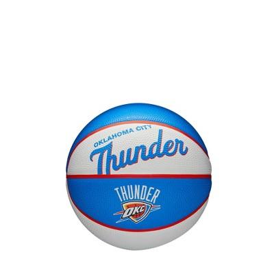 NBA Oklahoma City Thunder Retro Mini Basketball