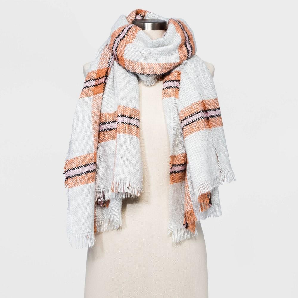 Promos Women' Plaid Blanket carf - Univeral Thread™