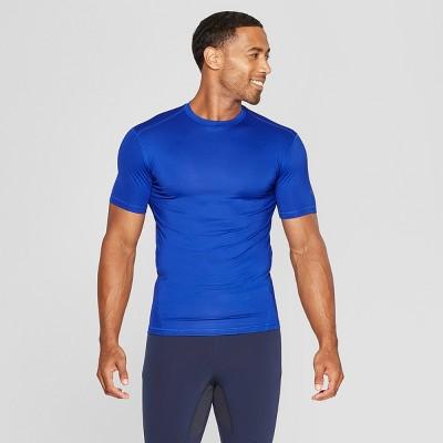 14b22eabb4f0 Men s Long Sleeve Mock Neck Compression T-Shirt - C9 Champion®   Target