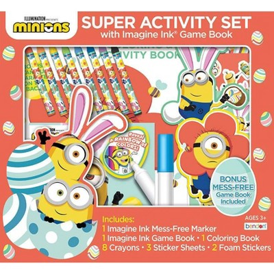 Minions Super Activity Set Imagine Easter Ink