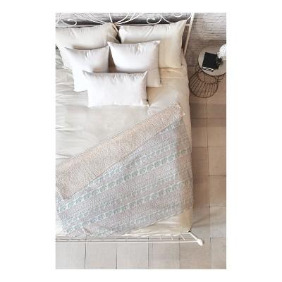 "Green Elephants Throw Blankets 50""X60"" - Deny Designs"