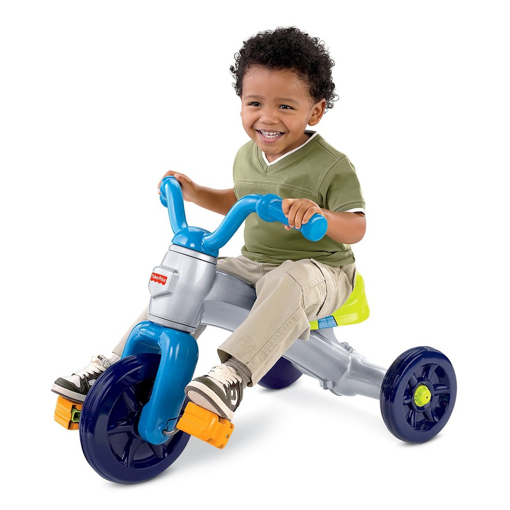 Fisher-Price Grow-With-Me Trike - Blue