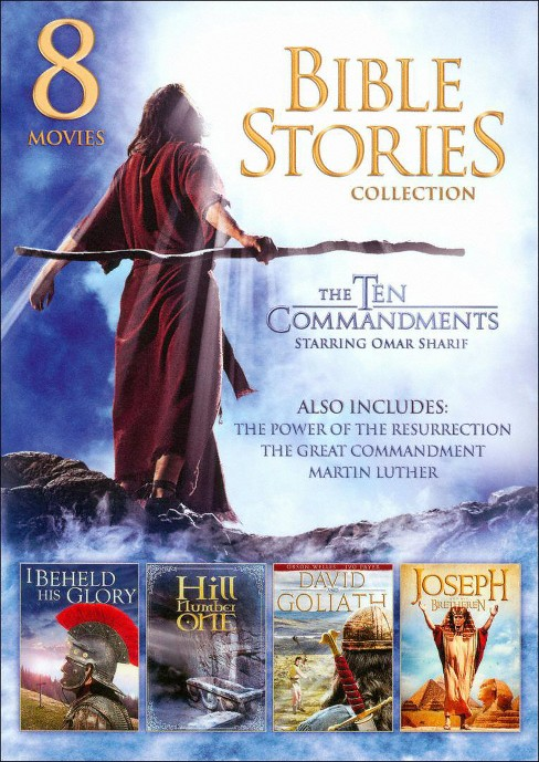 8 movie family bible stories collecti (DVD) - image 1 of 1