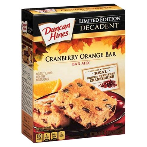 Duncan Hines Cranberry Orange Bar Mix 10oz - image 1 of 1