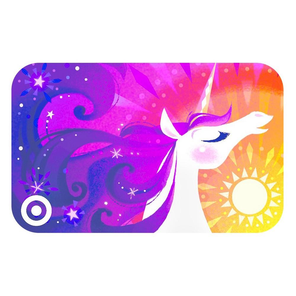 Fabulous Unicorn Target Giftcard Fabulous Unicorn Target Giftcard