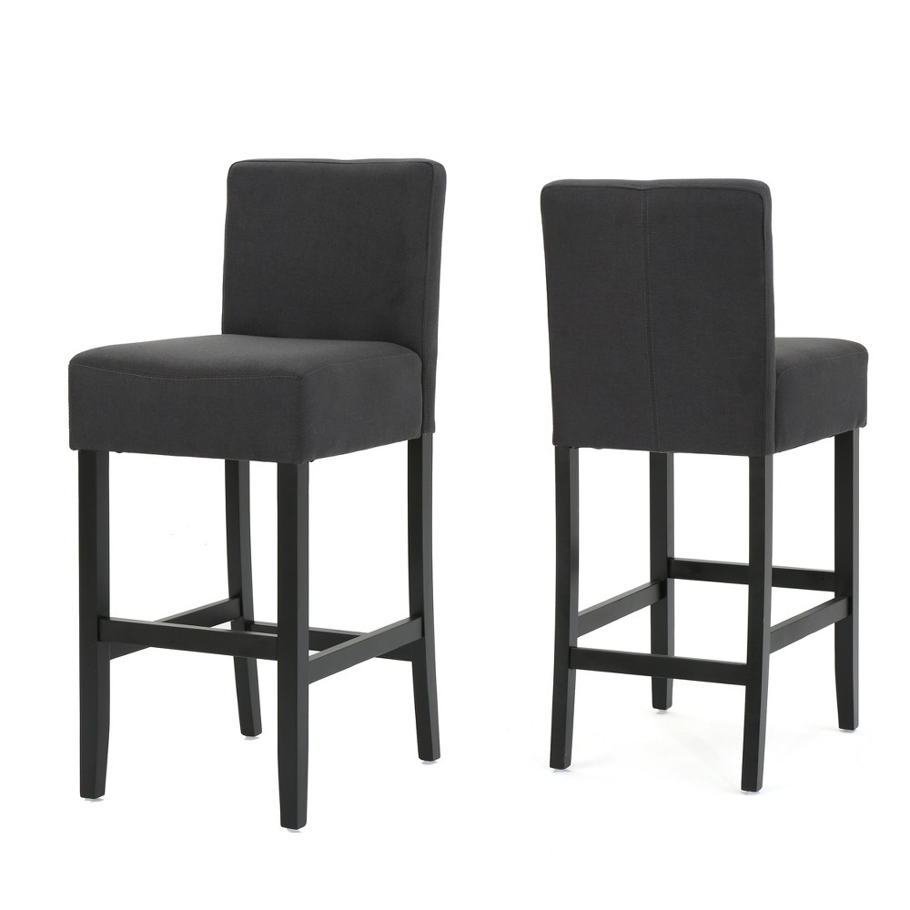 Set of 2 Portman Barstool Dark Charcoal - Christopher Knight Home was $228.99 now $148.84 (35.0% off)