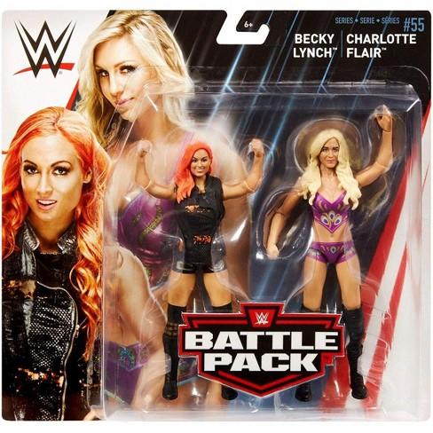 MATTEL-WWE Wrestling-Battlepack Series 55-Becky LYNCH /& Charlotte Flair