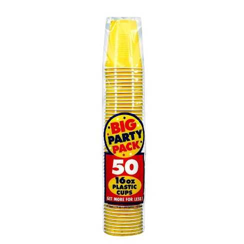 50ct Yellow Cup Party Pack - image 1 of 1
