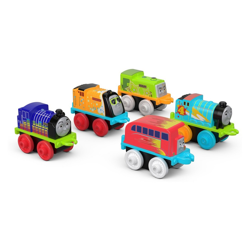 Fisher-Price Thomas & Friends Minis Glow-in-the-Dark Cool 5pk