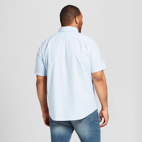 fac625060f3695 Men's Big & Tall Short Sleeve Button-Down Shirt - Goodfellow & Co ...