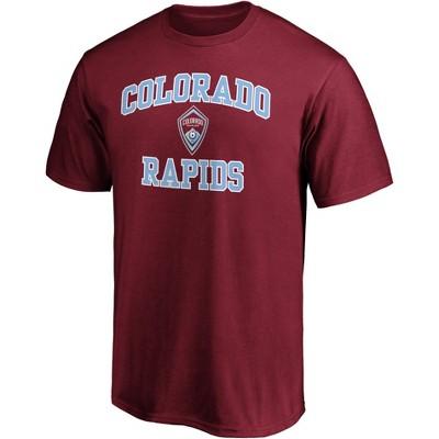 MLS Colorado Rapids Men's Short Sleeve Crew Neck Core T-Shirt