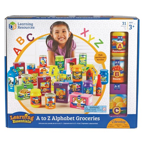 Learning Resources A to Z Alphabet Groceries - image 1 of 3