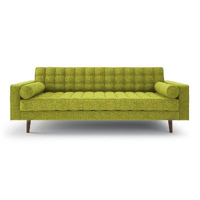 Merveilleux Lacey Mid Century Modern Button Tufted Sofa