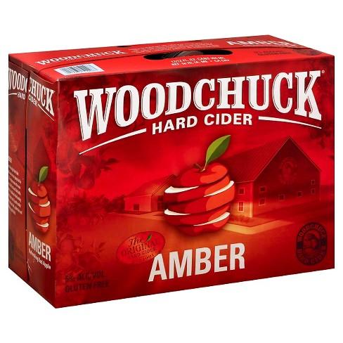 Woodchuck Amber Hard Cider - 12pk/12 fl oz Cans - image 1 of 1