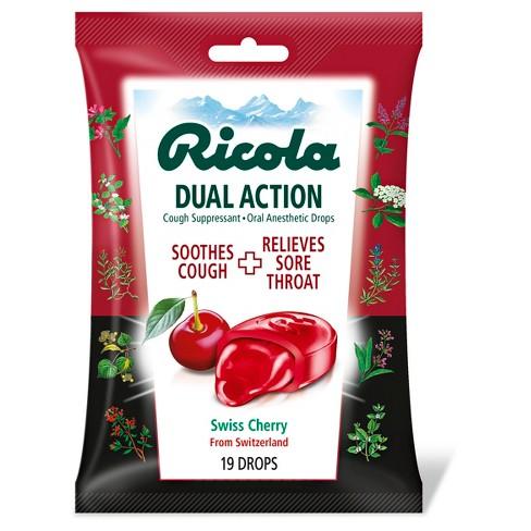 Ricola Dual Action Lozenges - Cherry - 19ct - image 1 of 3