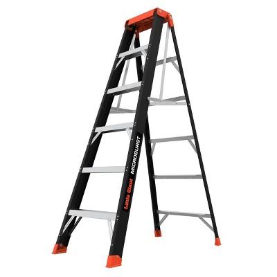 Little Giant Ladder Systems 6' ANSI Type IA 300 lb fiberglass Stepstool Black
