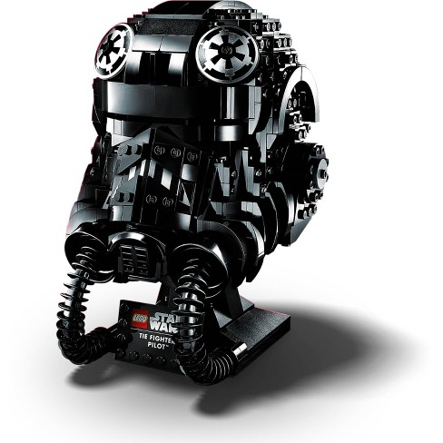 LEGO Star Wars TIE Fighter Pilot Helmet Building Kit; Cool Collectible for Adults 75274 - image 1 of 4