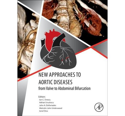 New Approaches to Aortic Diseases from Valve to Abdominal Bifurcation (Paperback) - image 1 of 1