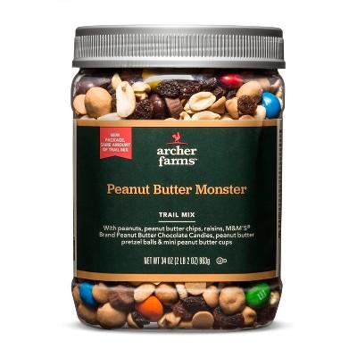 Peanut Butter Monster Trail Mix - 34oz - Archer Farms™