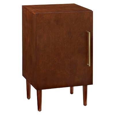 Everett Record Player Stand Mahogany 48  - Crosley