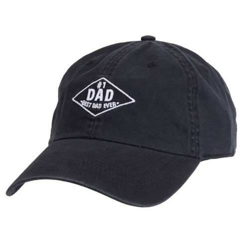 Wemco™ Men's #1 Dad Hat - Black One Size - image 1 of 2