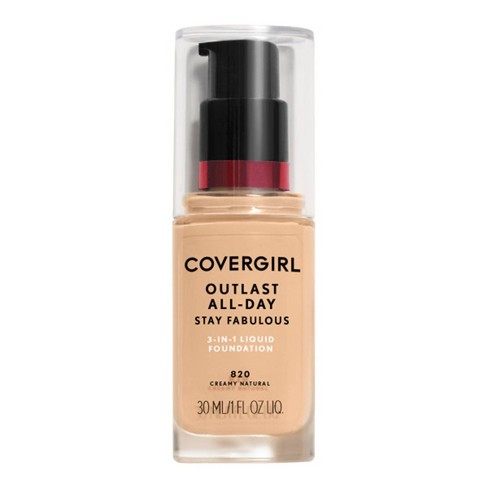 COVERGIRL Outlast Stay Fabulous 3-in-1 Foundation SPF 20 - 1 fl oz - image 1 of 4