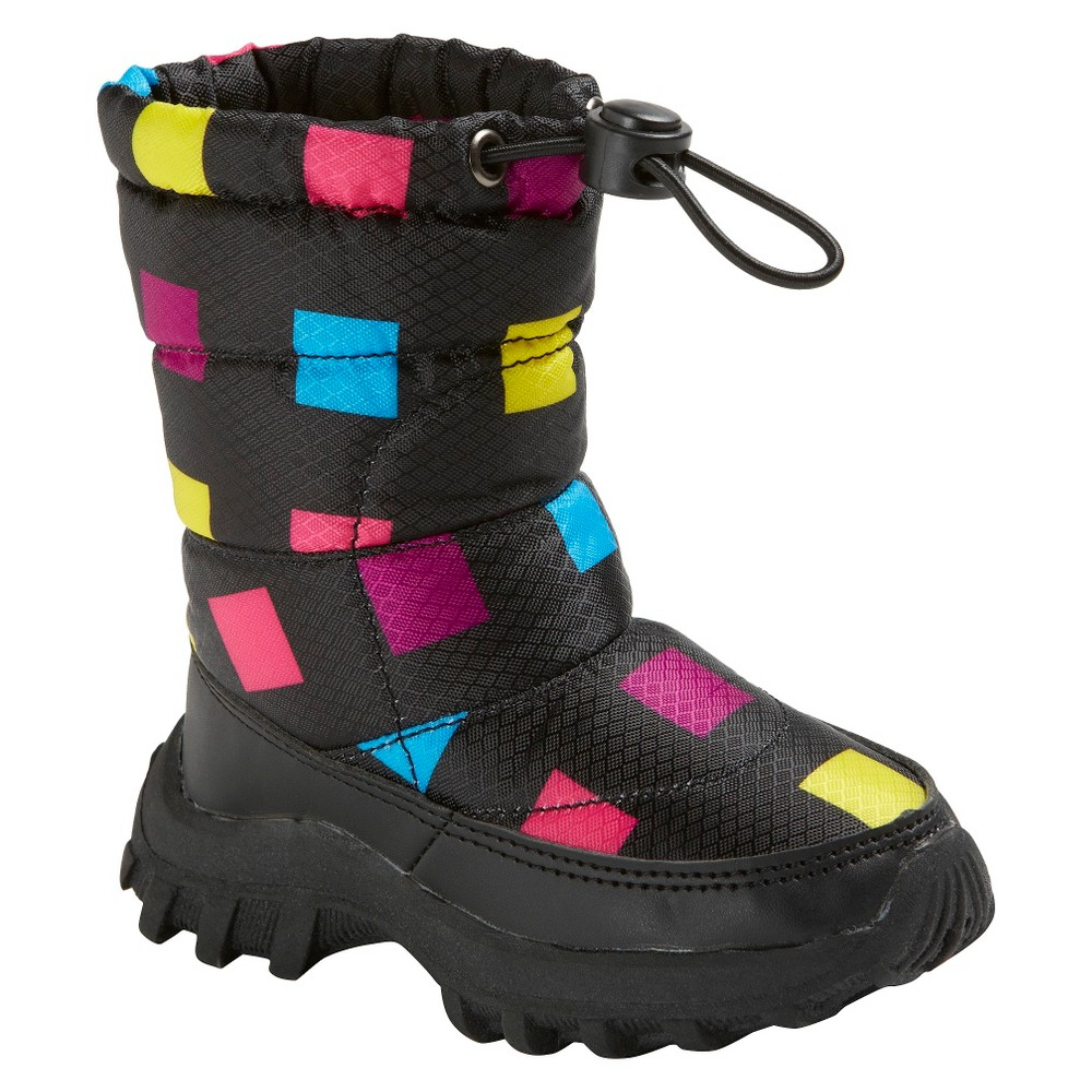 Girls' Itasca Snow Scamp Boots - 3, Multicolored