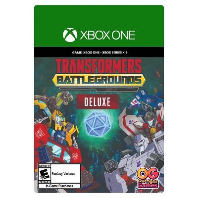 Transformers: Battlegrounds Deluxe - Xbox One/Series X|S (Digital)