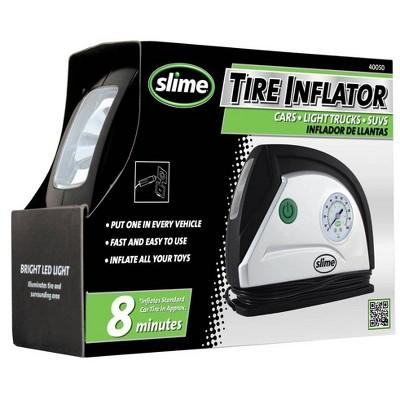 Slime 12V 40050 Tire Inflator with LED Light