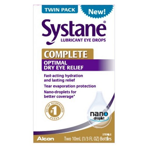 Systane Complete Eye Drops - 10ml/2ct - image 1 of 1