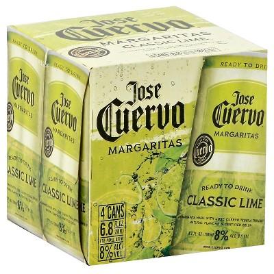 Jose Cuervo Sparkling Margarita - 4pk