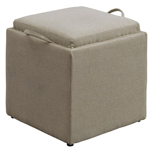 Excellent Johar Furniture Designs4Comfort Park Avenue Single Storage Ottoman With Stool Ncnpc Chair Design For Home Ncnpcorg